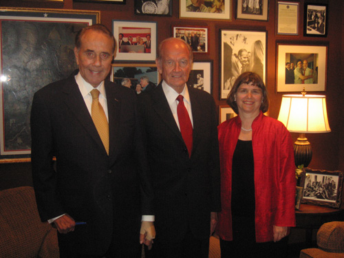 Two Great Hunger Fighters, Senators Bob Dole and George McGovern (2006)