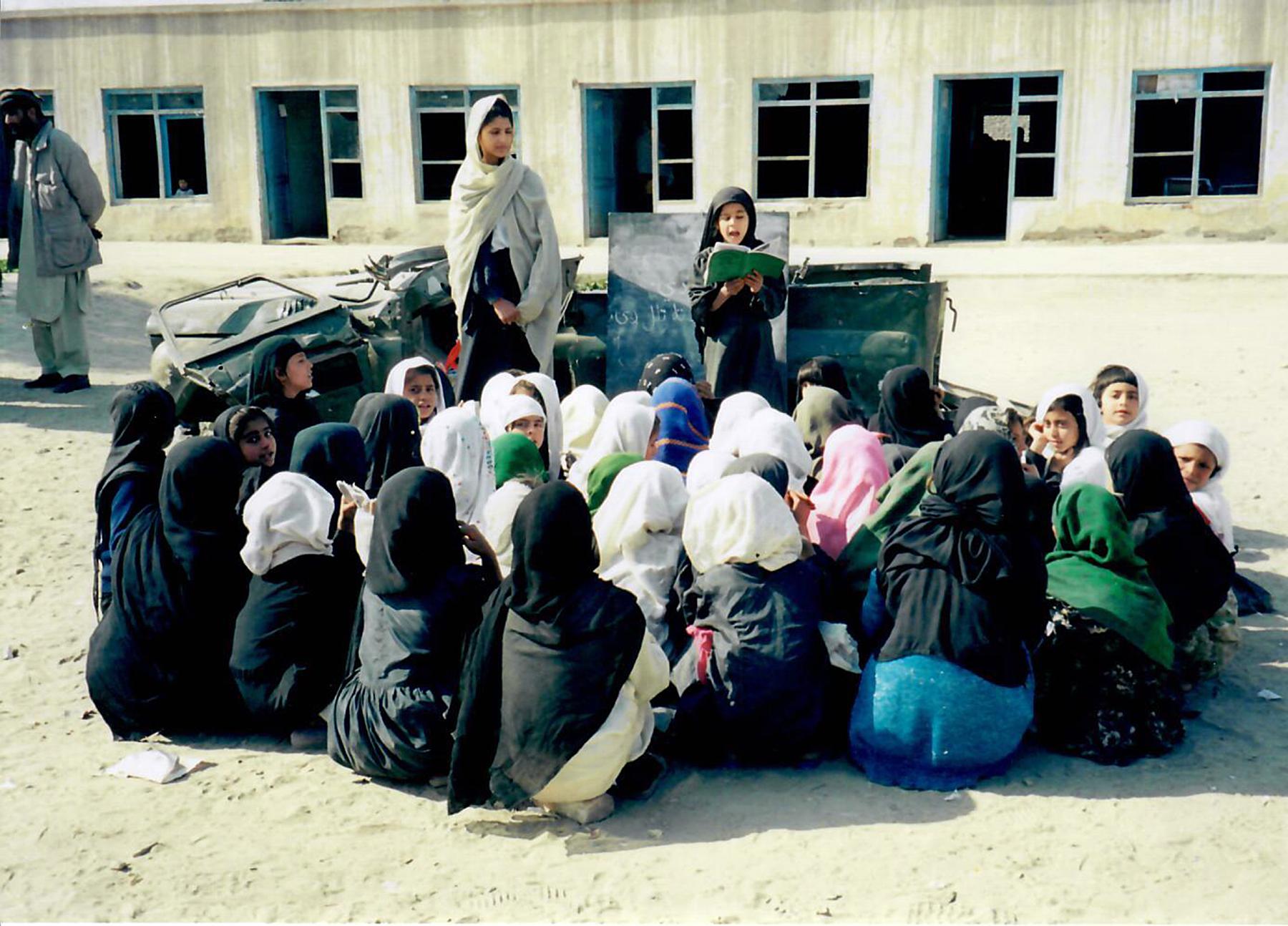 Girls in Afghanistan (2002)