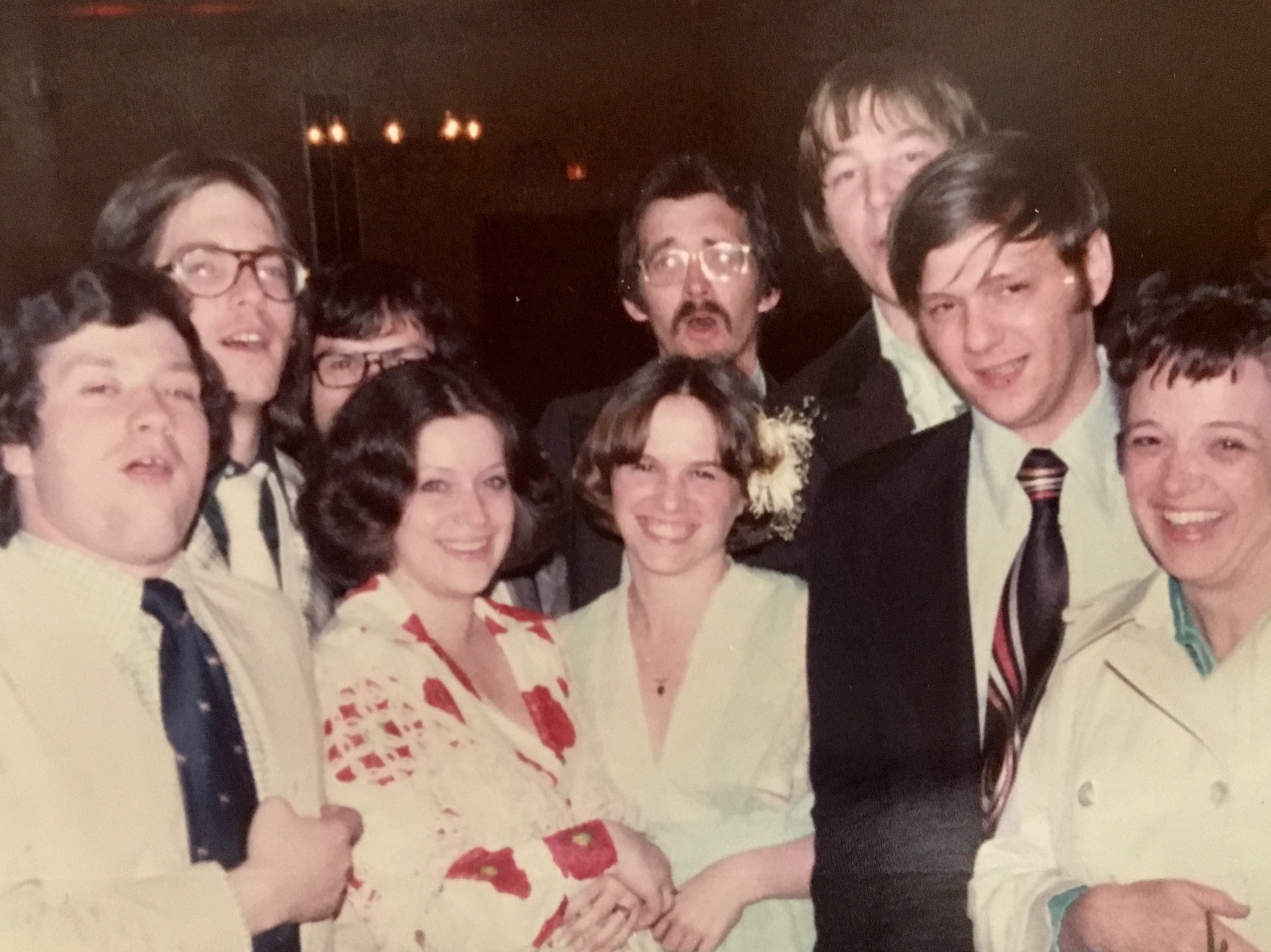 State Street Gang members (active participants in the NYS Republican Party) in 1976.