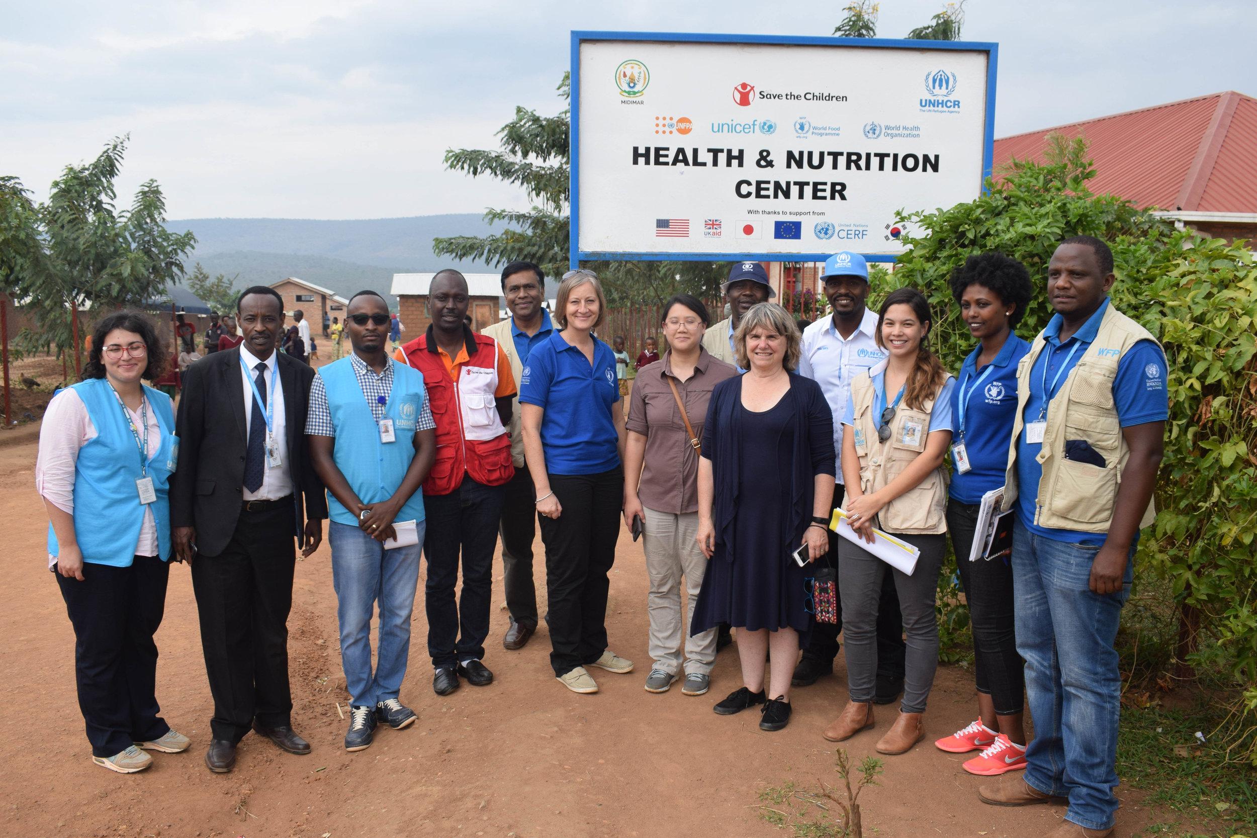 Mahama Refugee Camp, Rwanda 2018 (Photo by Edith Heines)