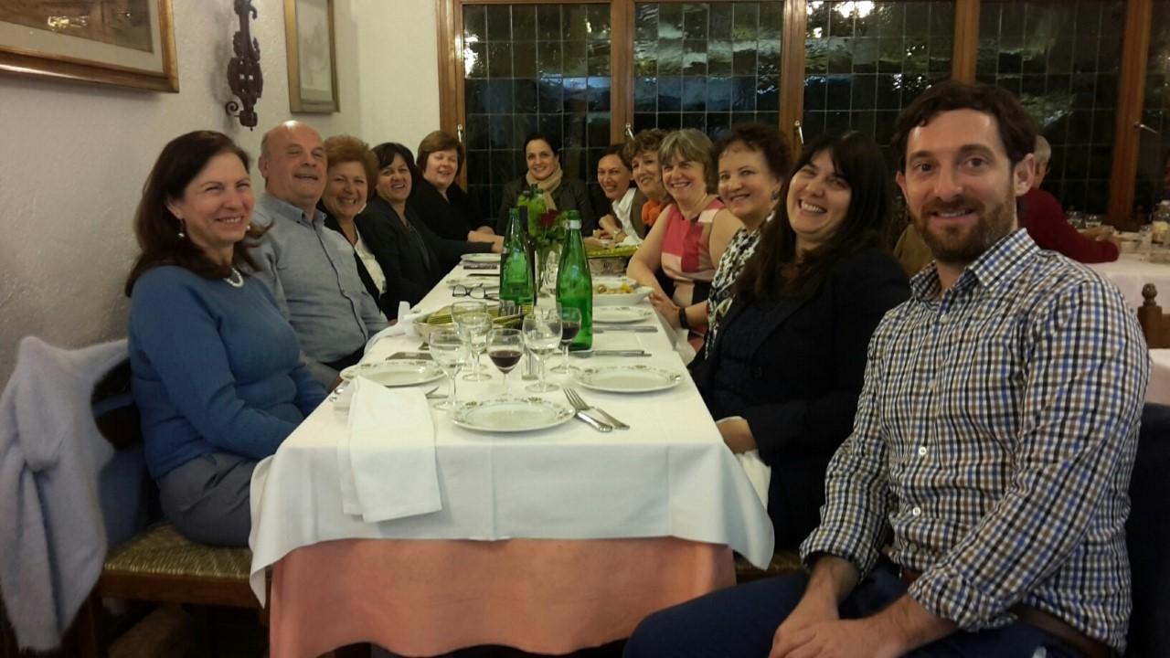 Dinner Honoring Rina Manzo, Rome 2018