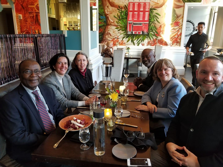 Senior WFP Field Directors Visiting Washington DC (2017)