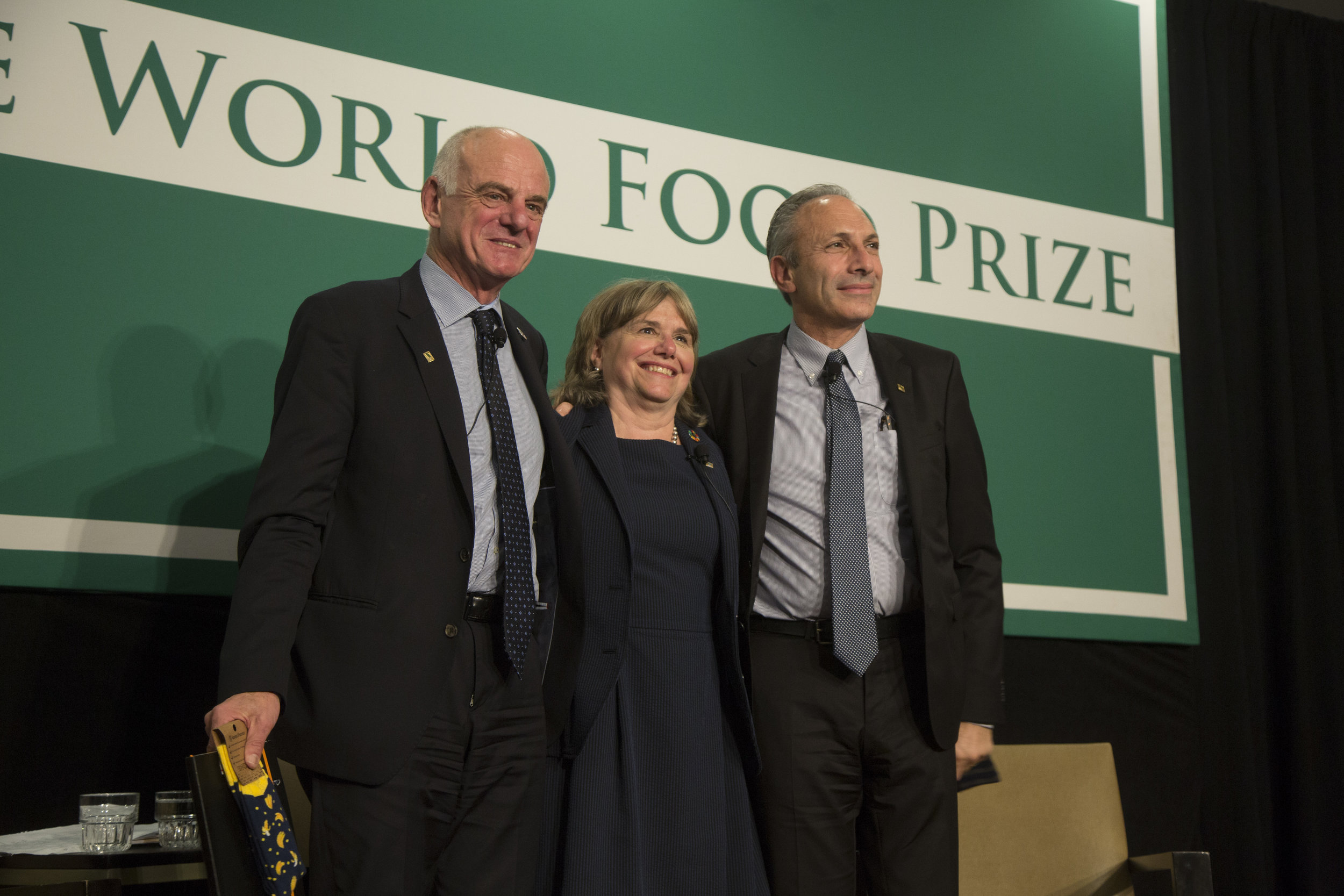 2018 World Food Prize Laureates, Dr. David Nabarro, Dr. Lawrence Haddad at their Laureate Panel Moderated by Catherine Bertini