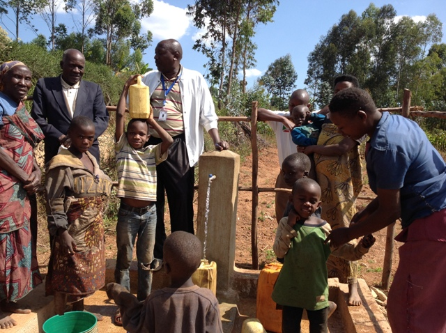 Access to the water delivered at each tap stand will be available to all people at no cost regardless of the person's tribe or religion.