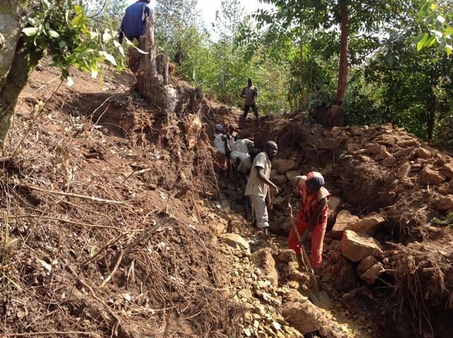 Source under excavation.JPG