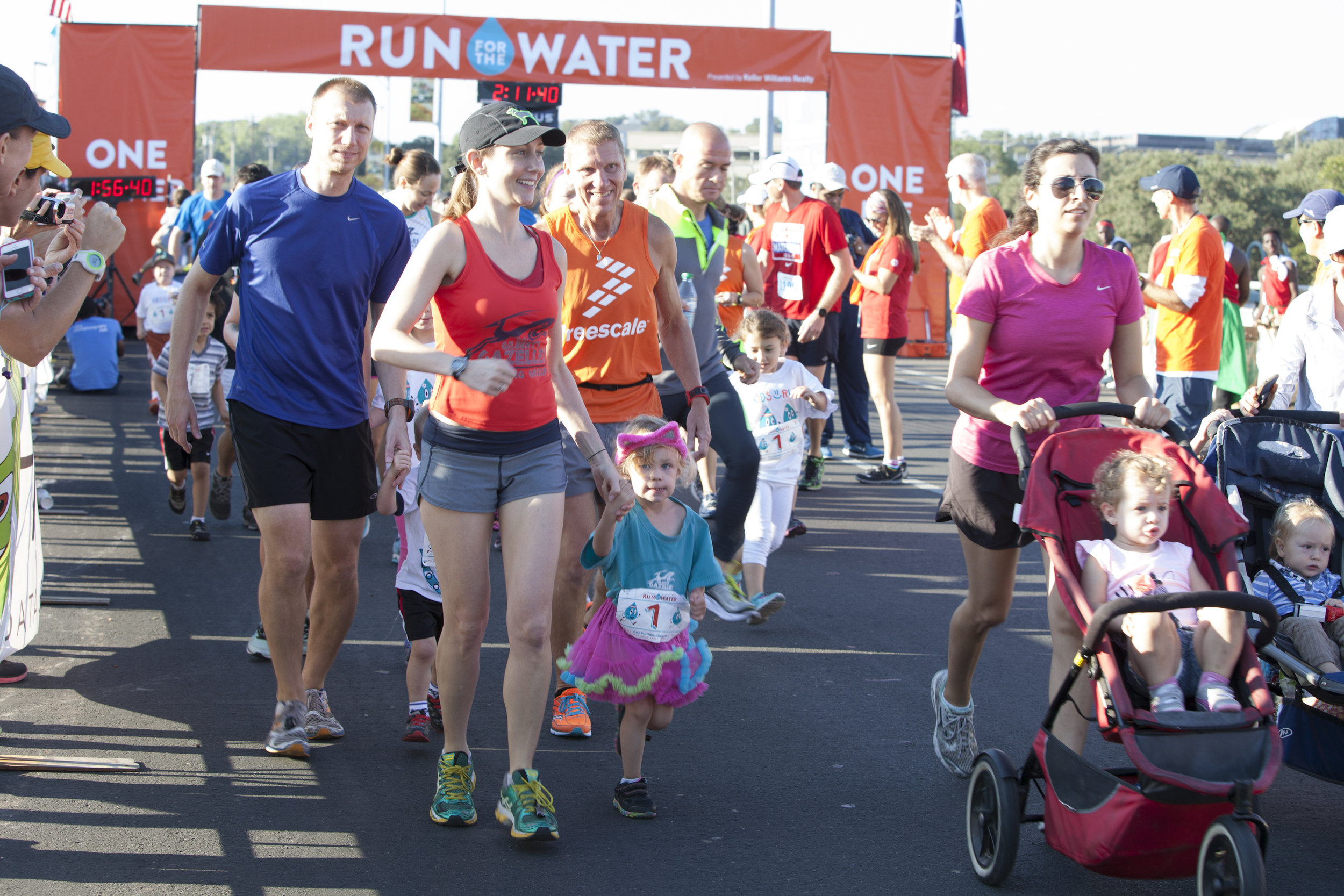 Austin, Texas - July 2, 2019 - Austin Ear Nose and Throat Clinic are the presenting sponsor of the Water Hero Kids K at the thirteenth annual Run For The Water. A uniquely transformative event, every entry to Run For The Water allows the Gazelle Foundation to provide a person in Burundi with access to clean water – for life. The Water Hero Kids K is a fun way for kids to be active and gain a deeper understanding of water scarcity, consumption, and their role and ability to be engaged, global citizens.