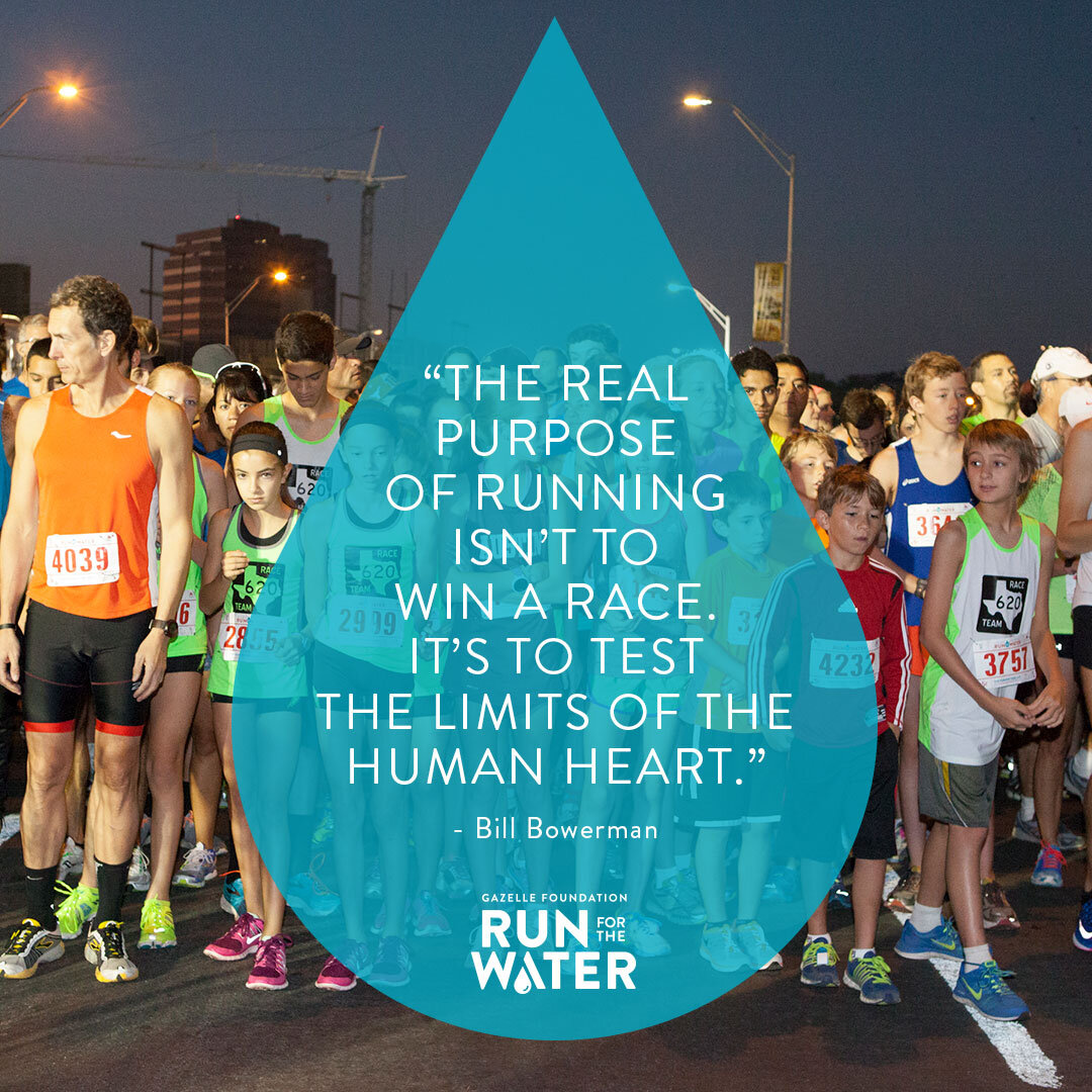 "Join us at the 13th annual Run For The Water in Downtown Austin, November 3, 2019. The race is part of the Austin Distance Challenge. Repeatedly named ""Austin's Best Race,"" Run For The Water draws thousands of runners and walkers and spectators each year. Register, donate or volunteer today to make a difference."
