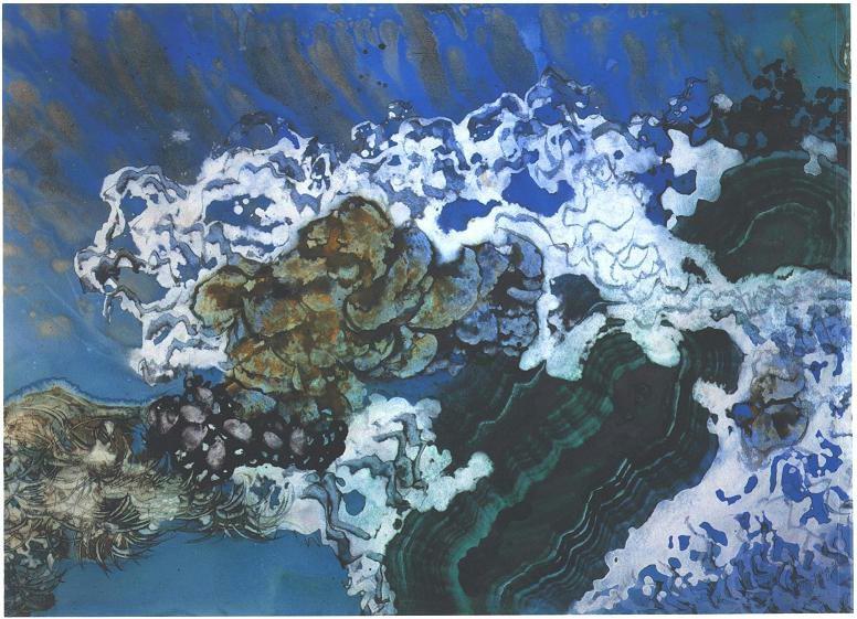 """Deep Sea Emerald I"", Sunken Treasure Series."