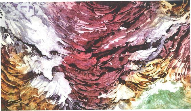 """""""Concave Glacier"""", Concave Veil Series."""