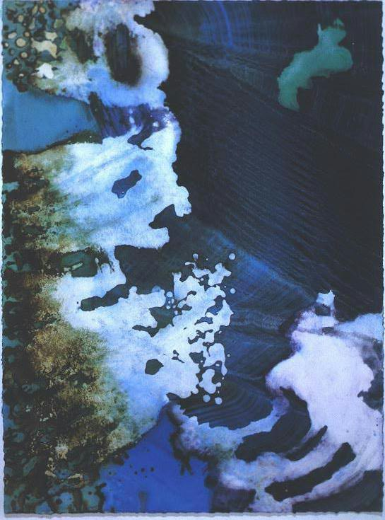 """""""Turquoise Floating"""", Turquoise Floating Series."""