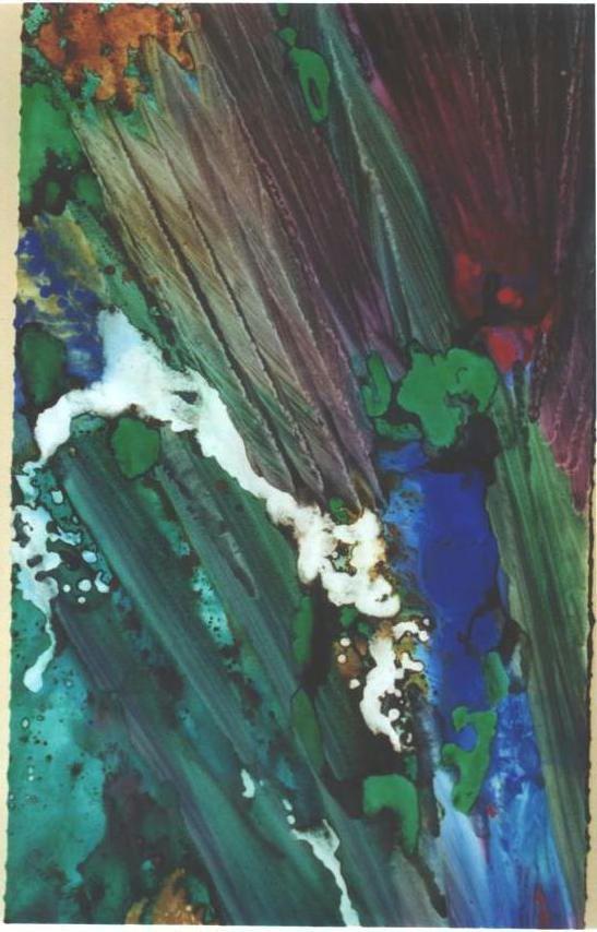 """Emerald Forest III"", Rainforest Series."