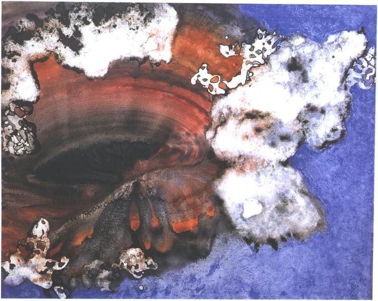 """""""Black Hole III"""" 1996, Black Hole Series."""