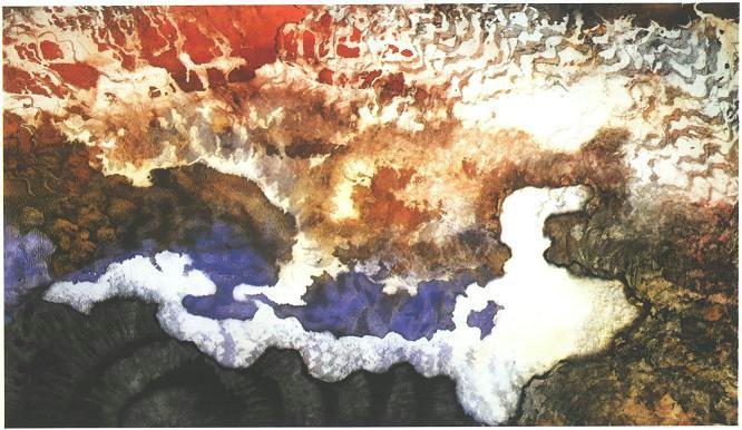 """Twilight"", Cloud as Dog Series."