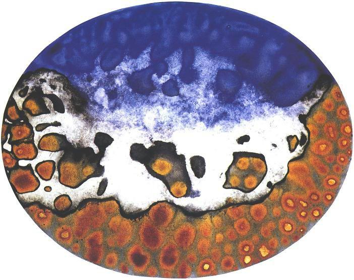 """""""Space Park 8"""", Mushroom Cloud Series."""