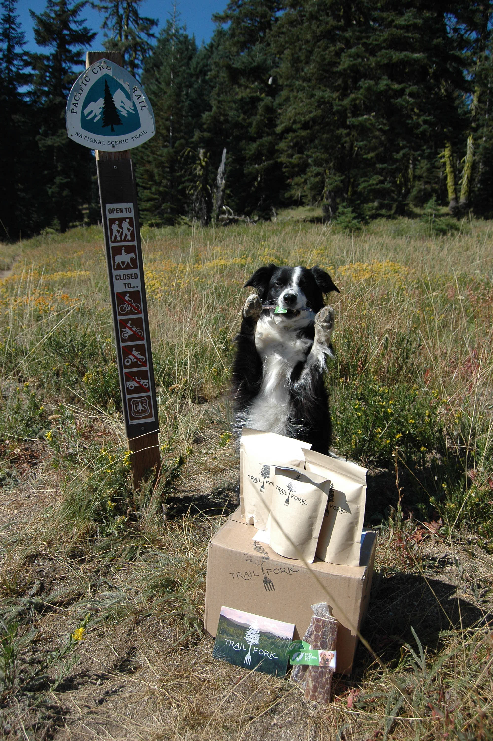 Trail Fork - Health Environmentally Conscious trail food for people!While on trail, the fine folks at Trail Fork, who strive to bring sustainable, eco-friendly pre-made backpacker meals to back country adventurers will be sending us out some of their delicious meals to trail test!