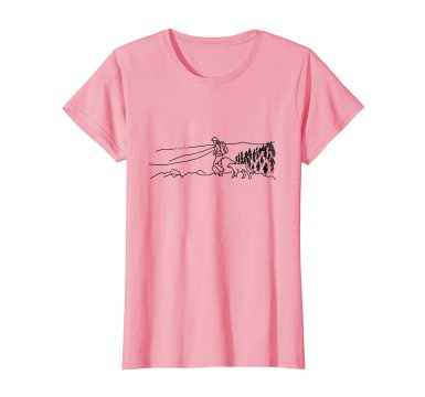 T-shirts Now Available - All net proceeds go to the Freedom Service Dogs fundraising Campaign. Show off your love of hiking with dogs, while supporting the rescue of shelter dogs and helping people!Only $19.99, available in women's & men's styles, different colors and sizes.