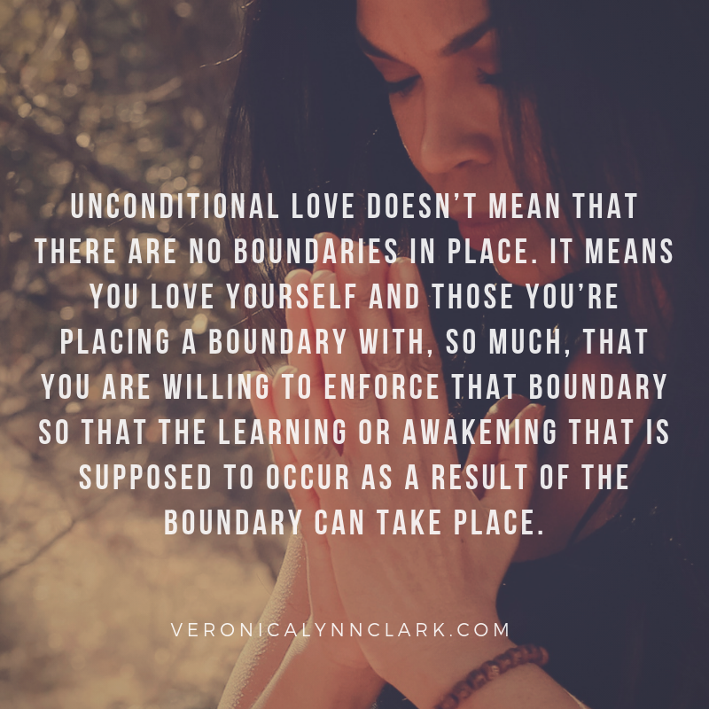 The Boundary of Love