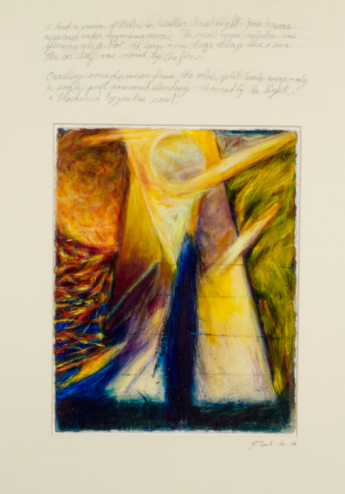 'Vision of Babel in Waller: Byzantine Saint'