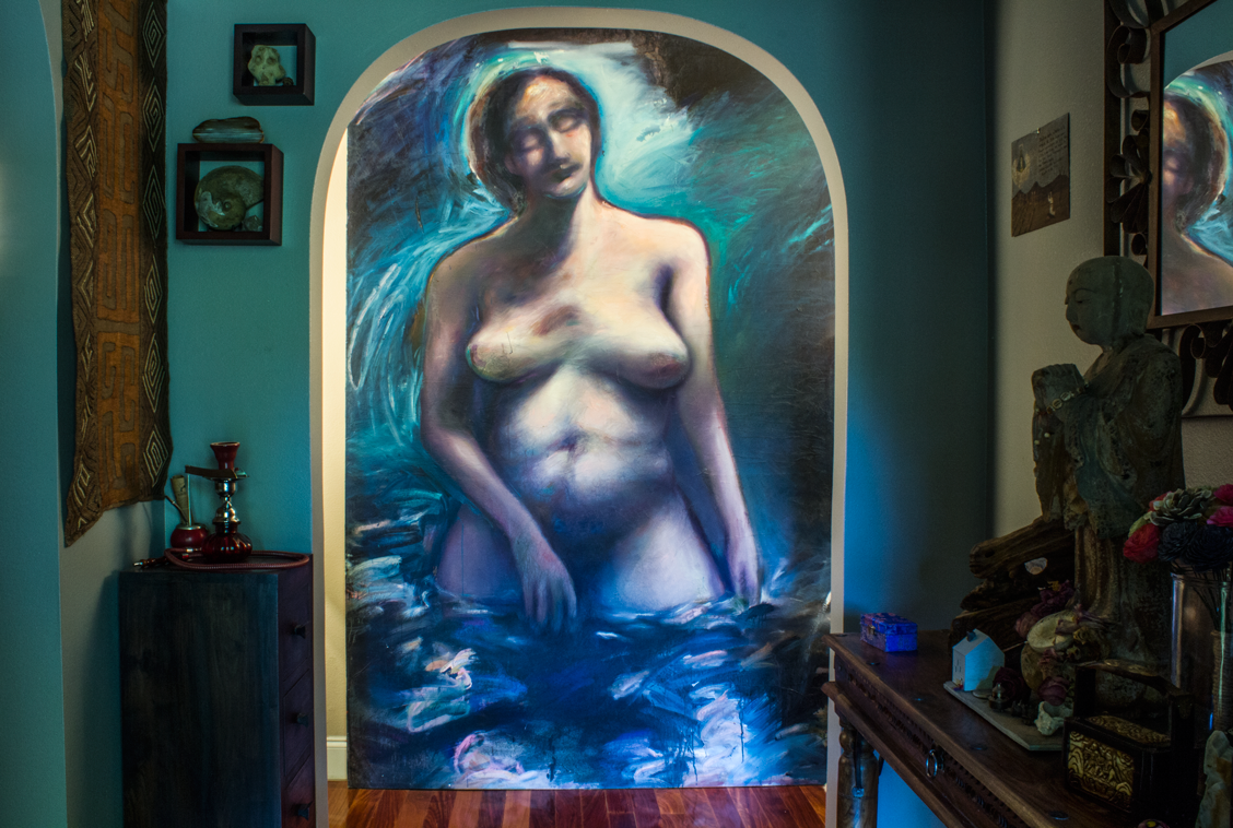 Madonna of the Rio Grande - center panel