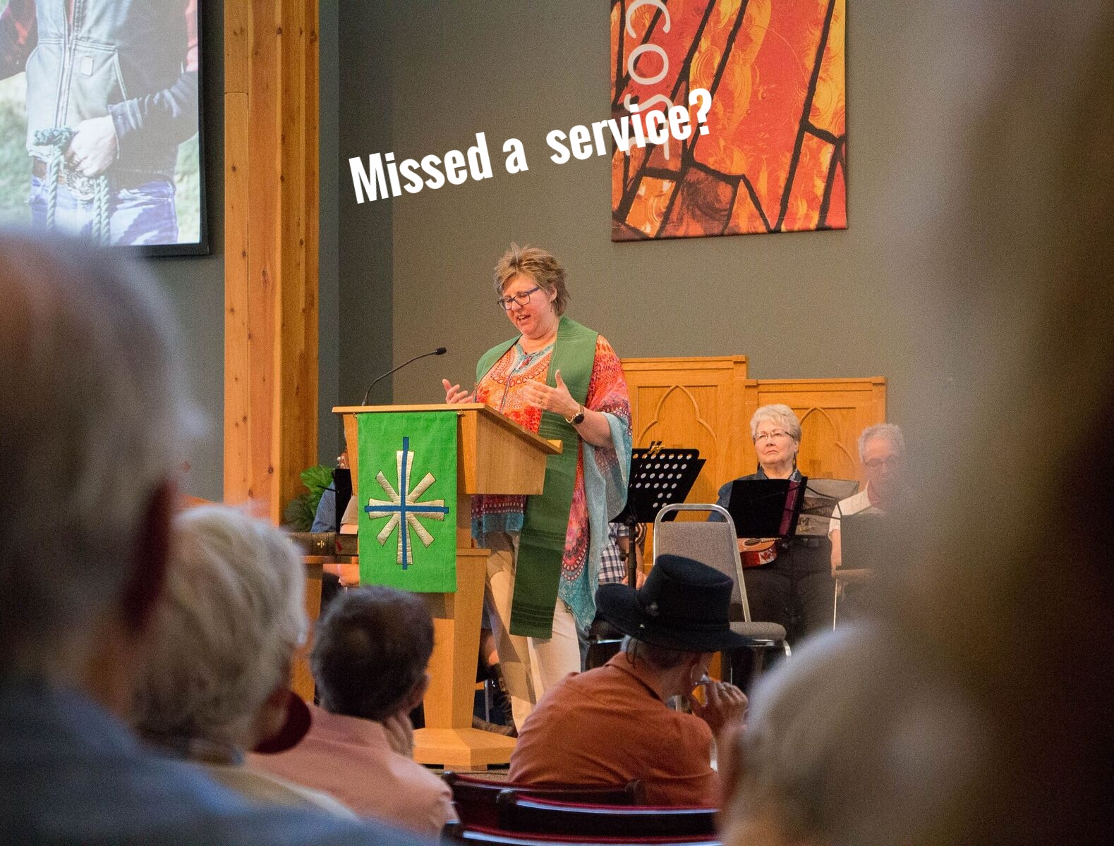 Missed a service? - Click here to listen to previous Sermons