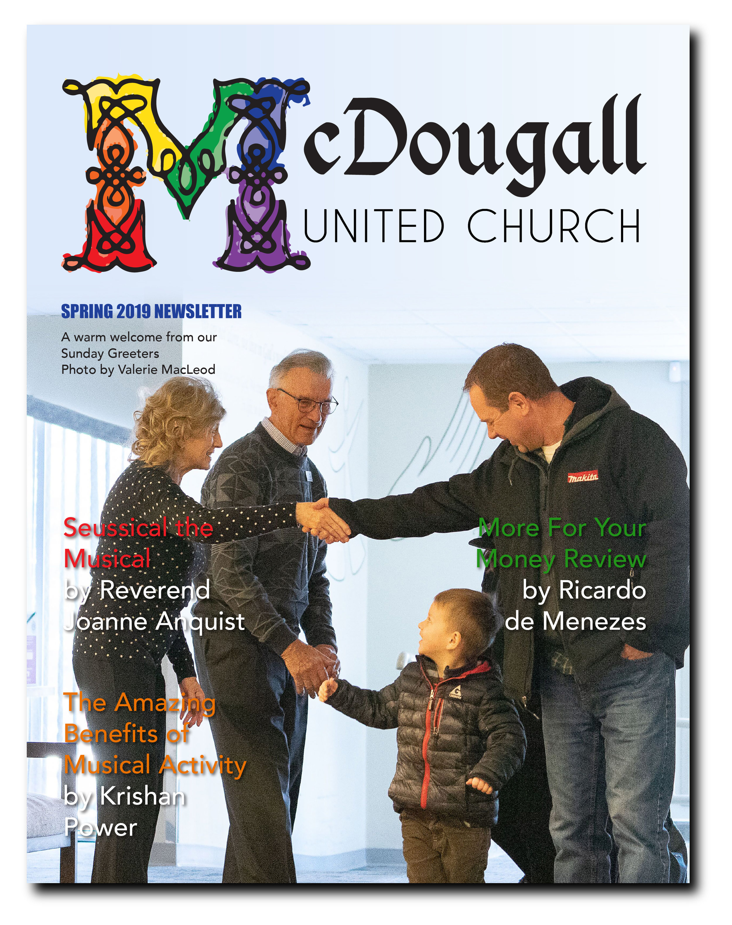 Spring 2019 Newsletter - CLICK HERE to download the Newsletter