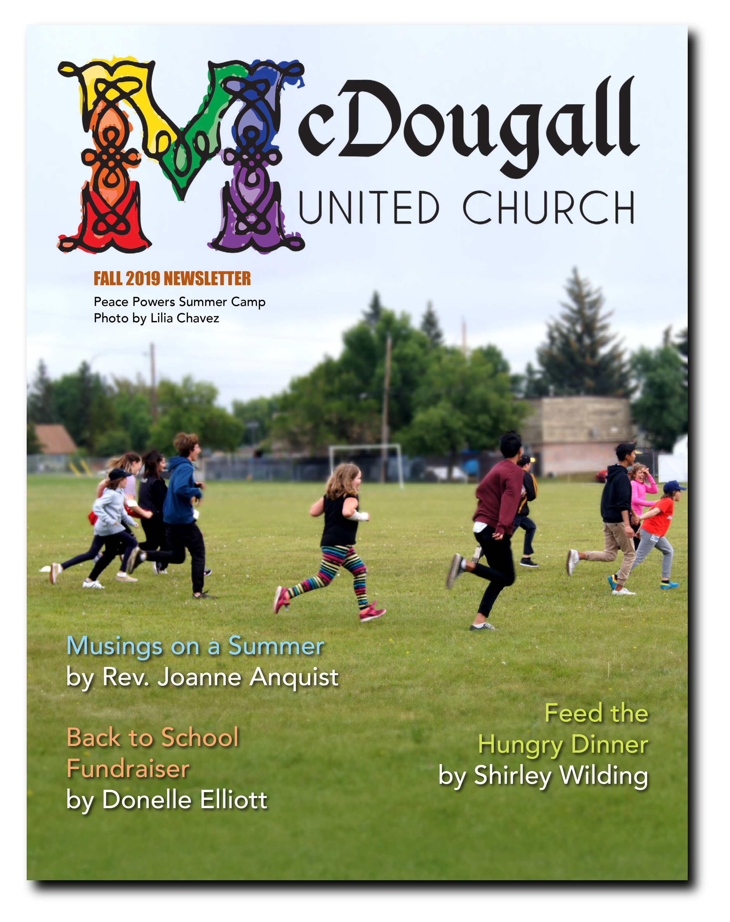 Download the Fall Newsletter here… - CLICK HERE to download the latest McDougall Newsletter.