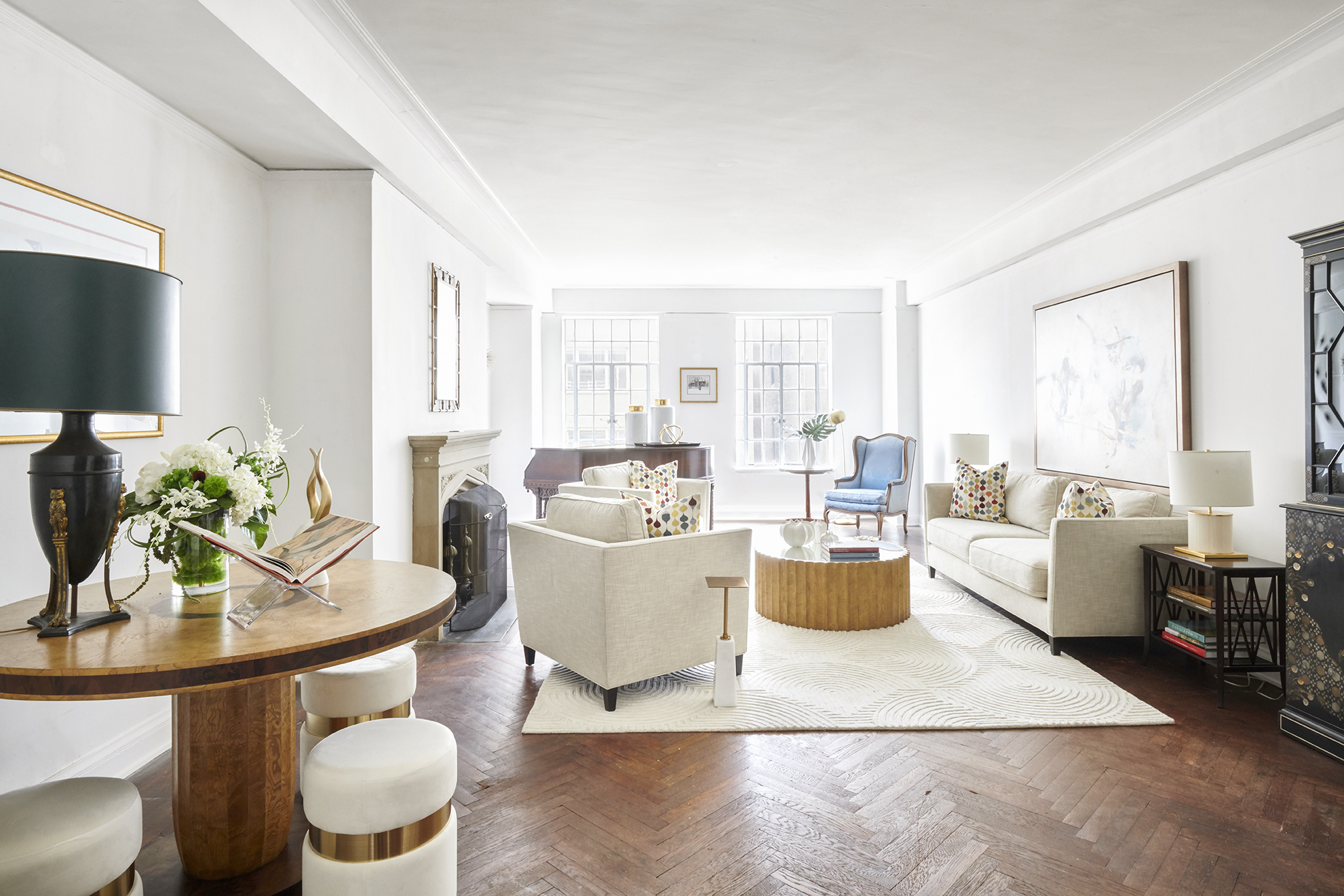 300 CENTRAL PARK WEST Before & After - *Photos taken prior to staging and post-staging.
