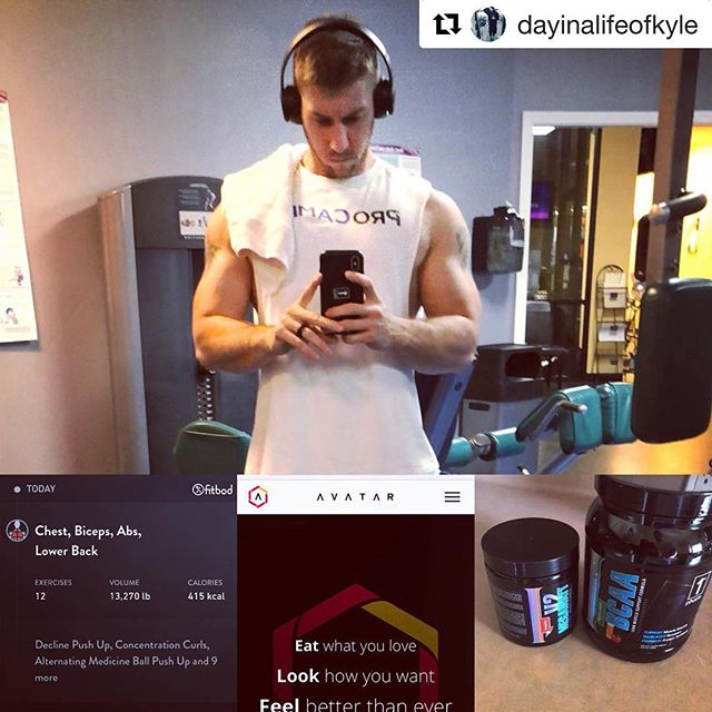 "Thank you for making us part of your fitness journey! We appreciate the share and support! Keep grinding! #fitbodapp #gains #impressive #transformation #gymrat #fitlife  #Repost @dayinalifeofkyle with @get_repost ・・・ Everyone has their own way to get or stay in shape.  I felt like I lost my way in the gym.  Gained too much weight, injured my knee and was eating/supplementing poorly.  I was able to find three things that helped me find my way again.  1. @avatarnutrition really got me back on track with my eating habits.  Tracking has never been my favorite thing to do but I find a way most days to get it done. 2. @1stphorm supplements was my calling.  I had tried all sorts of brands any just never could find the ""one"" until now.  I was also made per of the team as a Legionnaire so now I can spread the word to how they have helped me do it the right way with various supplements. 3. Lastly, @fitbodapp was something new I saw in an add and figured I'd give that a try more recently.  It gave me workouts, videos and workout changes each day that targeted various groups and I'm happy to say I enjoy these workouts.  So if you're stuck in that same routine, don't know how to eat or supplement, send me a message.  I'm not a PRO but I have proof of how not quitting gets you to your goals.  #bodybuilding #iam1stphorm #1stphorm #legionofboom #macros #trackyoureating #supplements #goals #achievement #motivation #noexcuses #neverquit #nutrition #imjustanaverageguy #fit #fitness #lifestylechange #legionnaire #militarymuscle #usaf #airforce #gymlife #muscle"