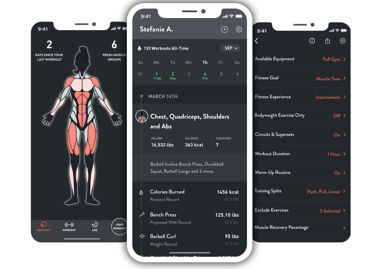 Over time, Fitbod advances you to more effective exercises. - Fitbod fills in the sets, reps and weight for each exercises based on strength-training best practices. As you get stronger or master exercises, Fitbod adapts to push your a bit harder in your next workout.