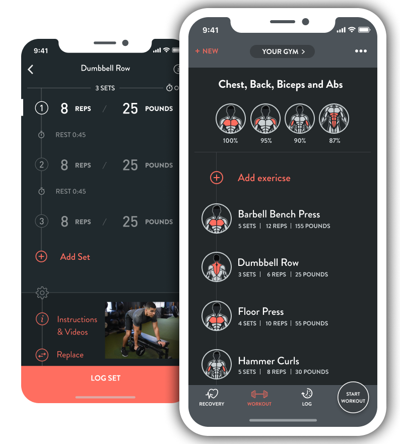 Fitbod builds your personalized workout of the day. - To build your custom-fit workout, Fitbod's training algorithm understands your strength-training ability, studies your past workouts and adapts to your available gym equipment