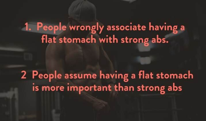 Core strength and belly fat