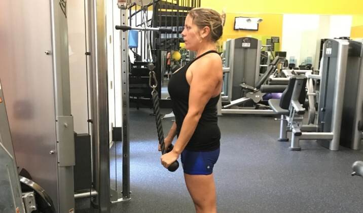 Weight training programs, of course, involve lifting weights or performing other weight resistance exercises