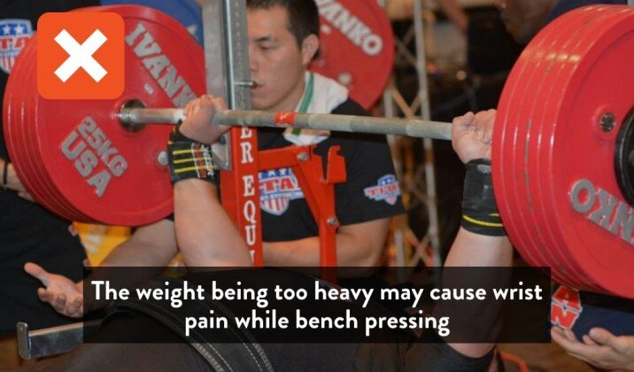 5 Reasons You Get Wrist Pain Bench Pressing How To Fix