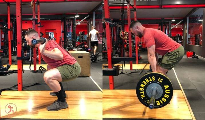 Always aim to master your technique for squats and deadlifts