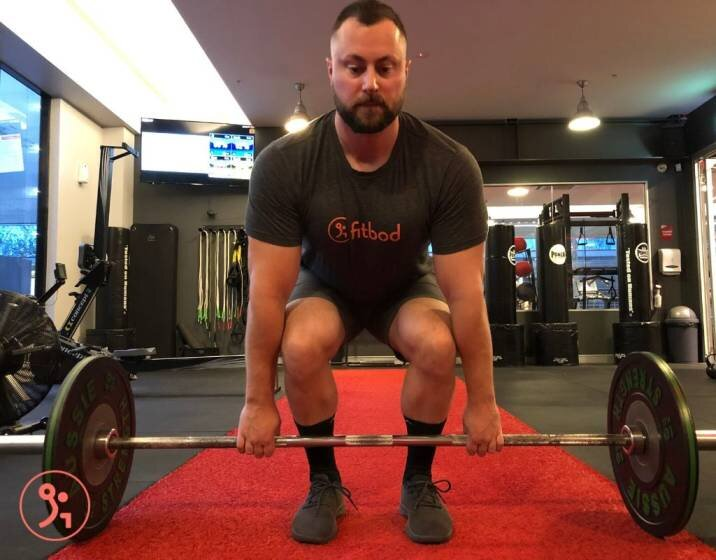 The deadlift is a compound exercise that works several muscle groups