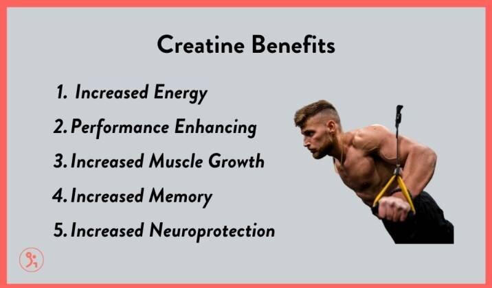 5 main benefits of creatine