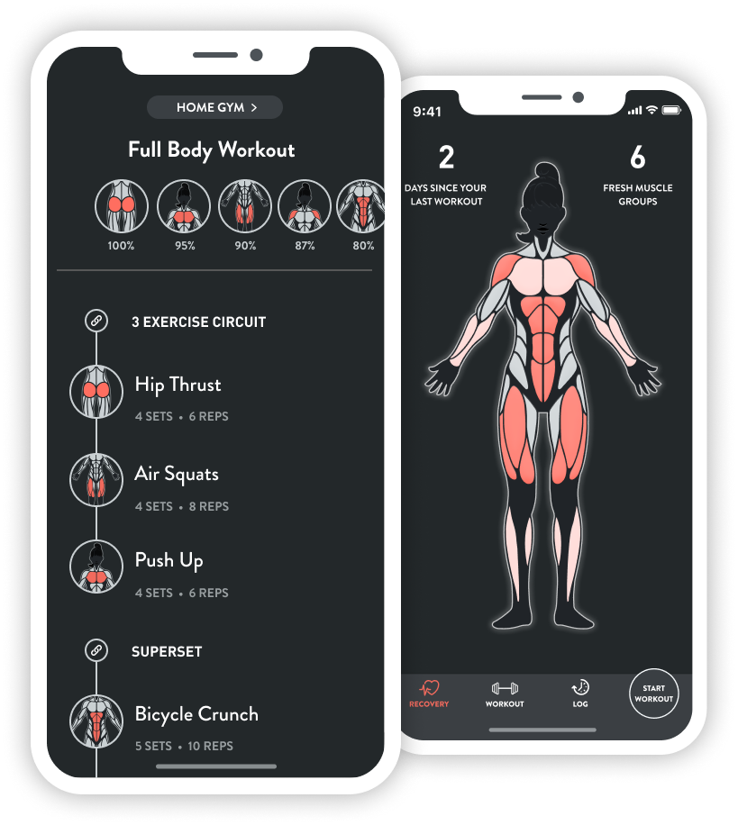 Master at-home workouts. - Can't make it to the gym? Fitbod allows you to workout from home with effective bodyweight only workouts that don't require additional equipment.
