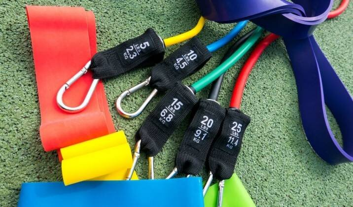 Types of Resistance Bands For Building Muscle.jpg