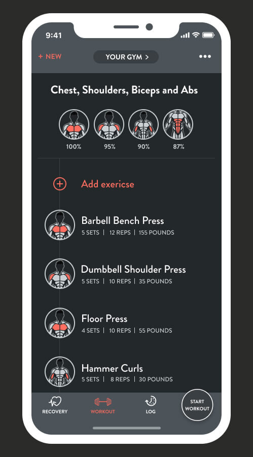Fitbod builds your personalized workout of the day. - To build your custom-fit workout, Fitbod's training algorithm understands your strength-training ability, studies your past workouts and adapts to your available gym equipment.