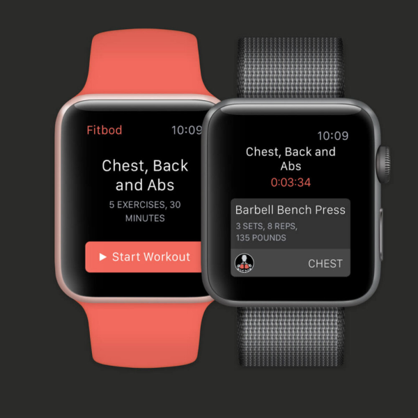 Seamless Workout Logging - With Watch, you can do the heavy lifting. See exercises at a glance, track your progress and stay focused while training.