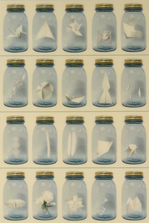 patoka hill 4, 2004  mixed media on board  36 x 24 inches