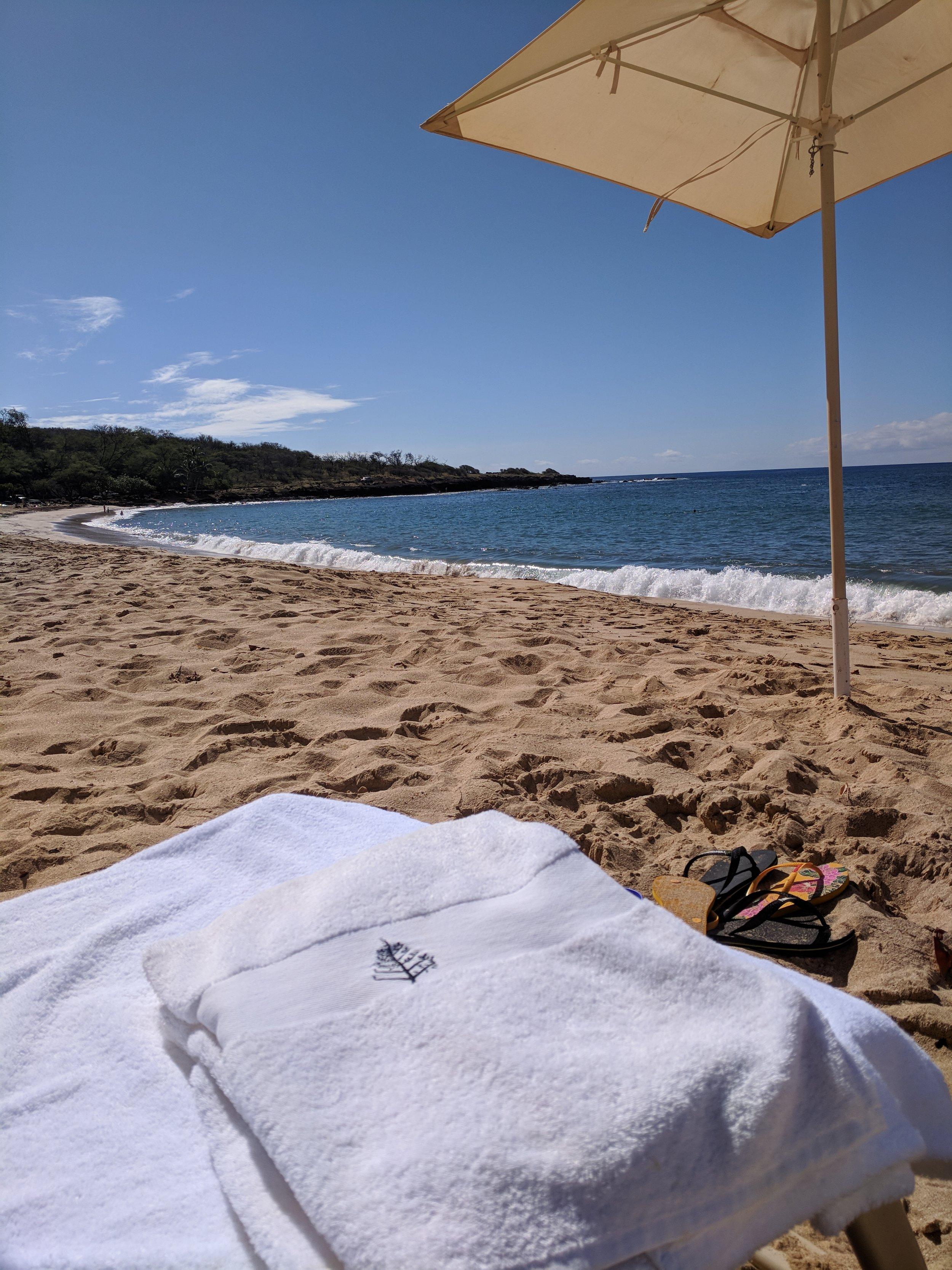 full beach service