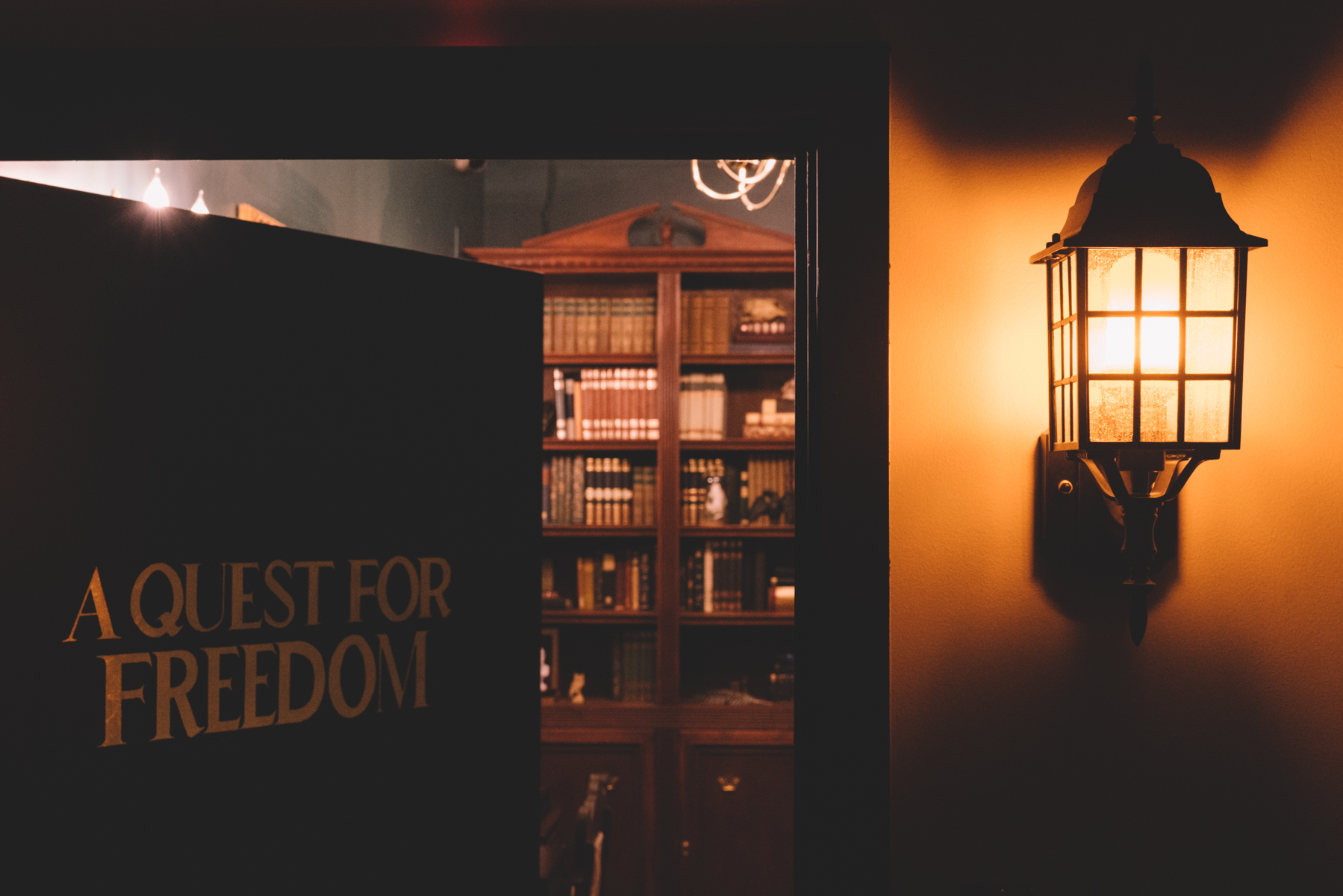 A Quest for Freedom : Secrets abound and hidden in the depths of Benjamin Franklin's study
