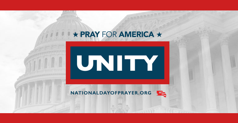 """""""There is no great movement of God that has ever occurred that does not begin with the extraordinary prayer of God's people.  """" Those are the encouraging words of the new chairman of the National Day of Prayer, Dr. Ronnie Floyd. Next Thursday, May 3, Americans everywhere will have an opportunity to kneel together before God and appeal for the kind of unity we need to move forward as a country. As Dr. Floyd reminds us, the National Day of Prayer belongs to all Americans. It's a day that transcends differences, bringing together citizens from all backgrounds. Mrs. Shirley Dobson, NDP chairman emeritus, has said before, """"We have lost many of our freedoms in America because we have been asleep. I feel if we do not become involved and support the annual National Day of Prayer, we could end up forfeiting this freedom, too.""""  Next week's theme is Pray for America: Unity, based on Ephesians 4:3. Dr. Floyd's hope is that individuals, churches, and spiritual leaders in America, will humble ourselves and unify in prevailing prayer for the next great move of God in America. We can come together in clear agreement that this is our greatest need. We can become a visible union, standing together in prayer. We can pray more than ever before, and practice extraordinary prayer for the next great move of God in America that will catapult the message of the gospel nationally and internationally.  Pray with us. Sponsor an event in your community. Become a volunteer. Order resources to help promote an event in your area. Support the National Day of Prayer financially. Together, we can mobilize unified public prayer for America! For more information, resources, or to find an event near you visit: http://www.nationaldayofprayer.org"""