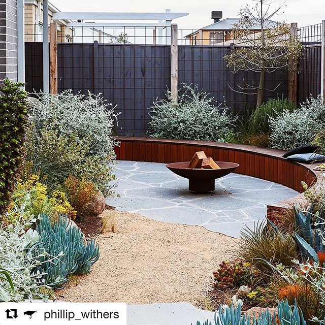 Check out @insideoutmag to see a write up of this incredible design by @phillip_withers which we were fortunate enough to build  #Repost @phillip_withers with @get_repost ・・・ A big thanks to @insideoutmag for there beautiful write up by @lsmdesign on a garden that's close to our hearts. Phil's parents coastal garden in Torquay on the west coast of Victoria. The garden was constructed with detailed craftsmanship by @instyle_gardens