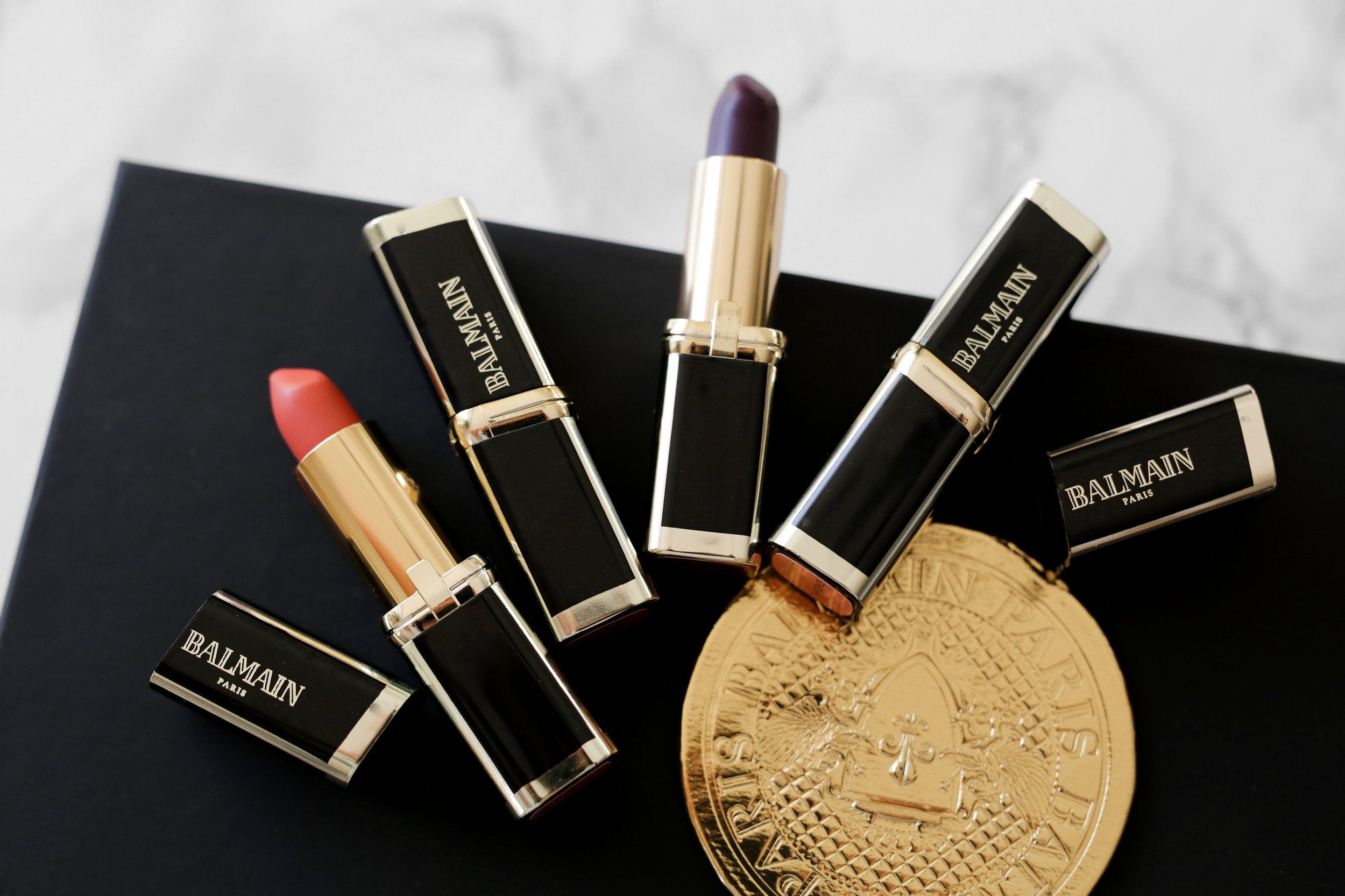 L'Oreal X Balmain Couture LIPSTICK collection - Confidence, Liberation, Domination, Confession Swatches-2085.JPG
