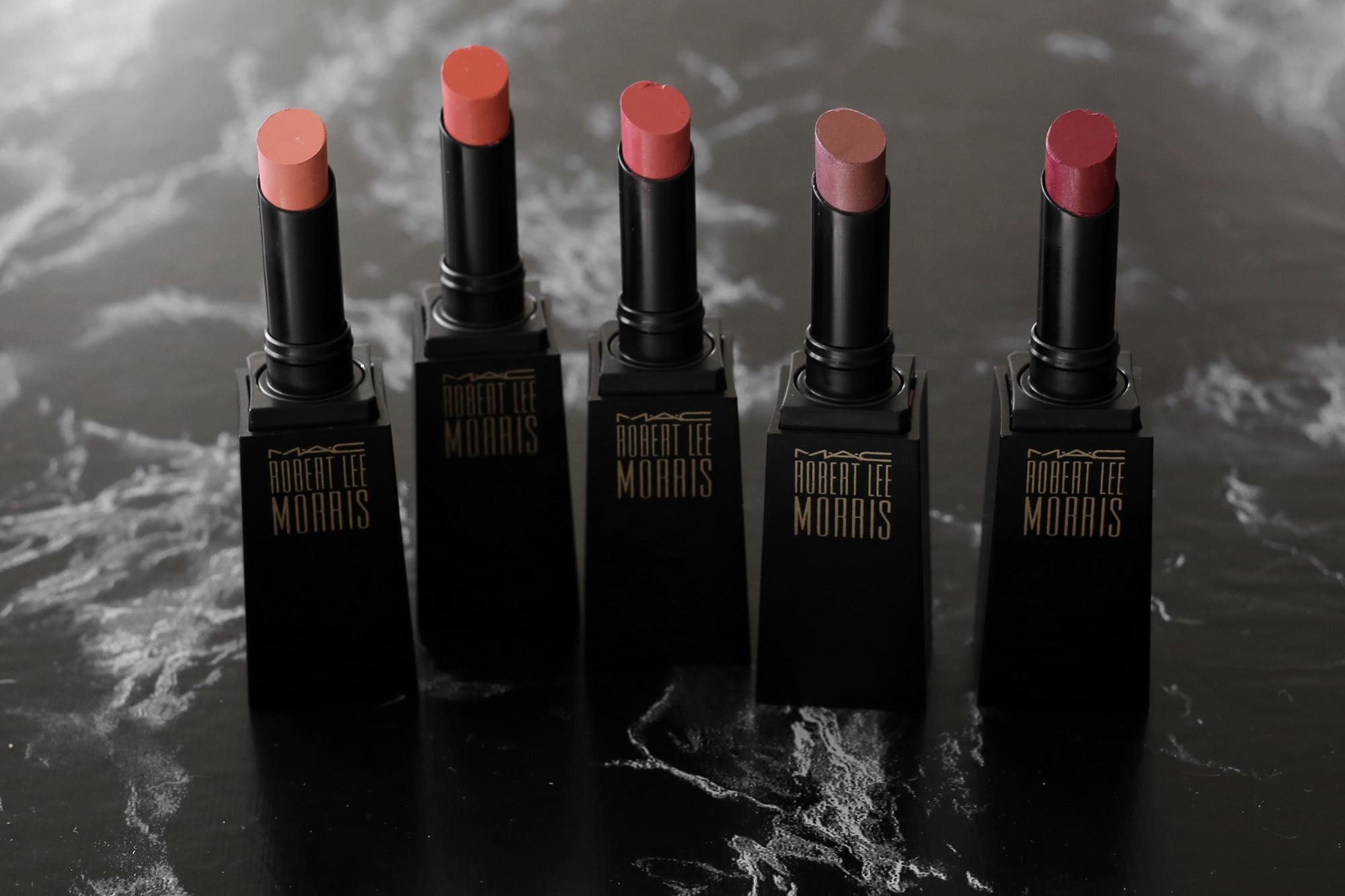 MAC x Robert Lee Morris makeup collection 2017 lipstick, blush, powder, compact, brush, beauty_5457.jpg