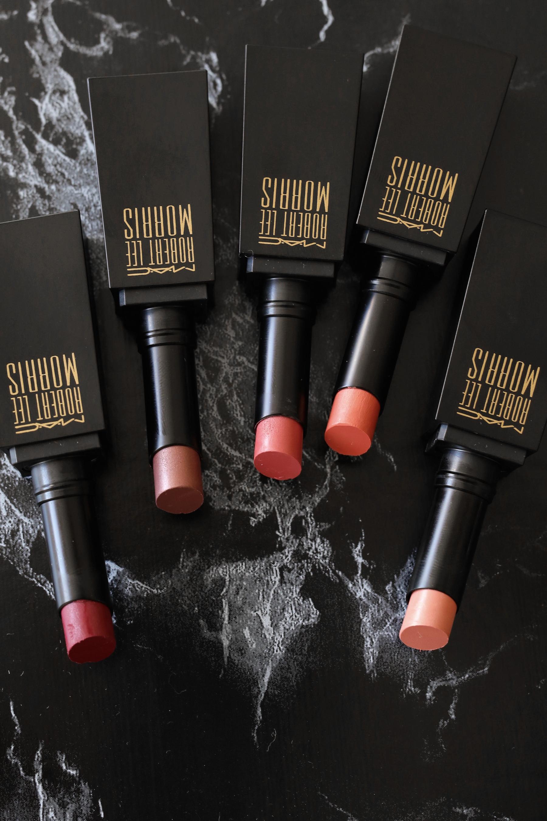 MAC x Robert Lee Morris makeup collection 2017 lipstick, blush, powder, compact, brush, beauty_5352.jpg