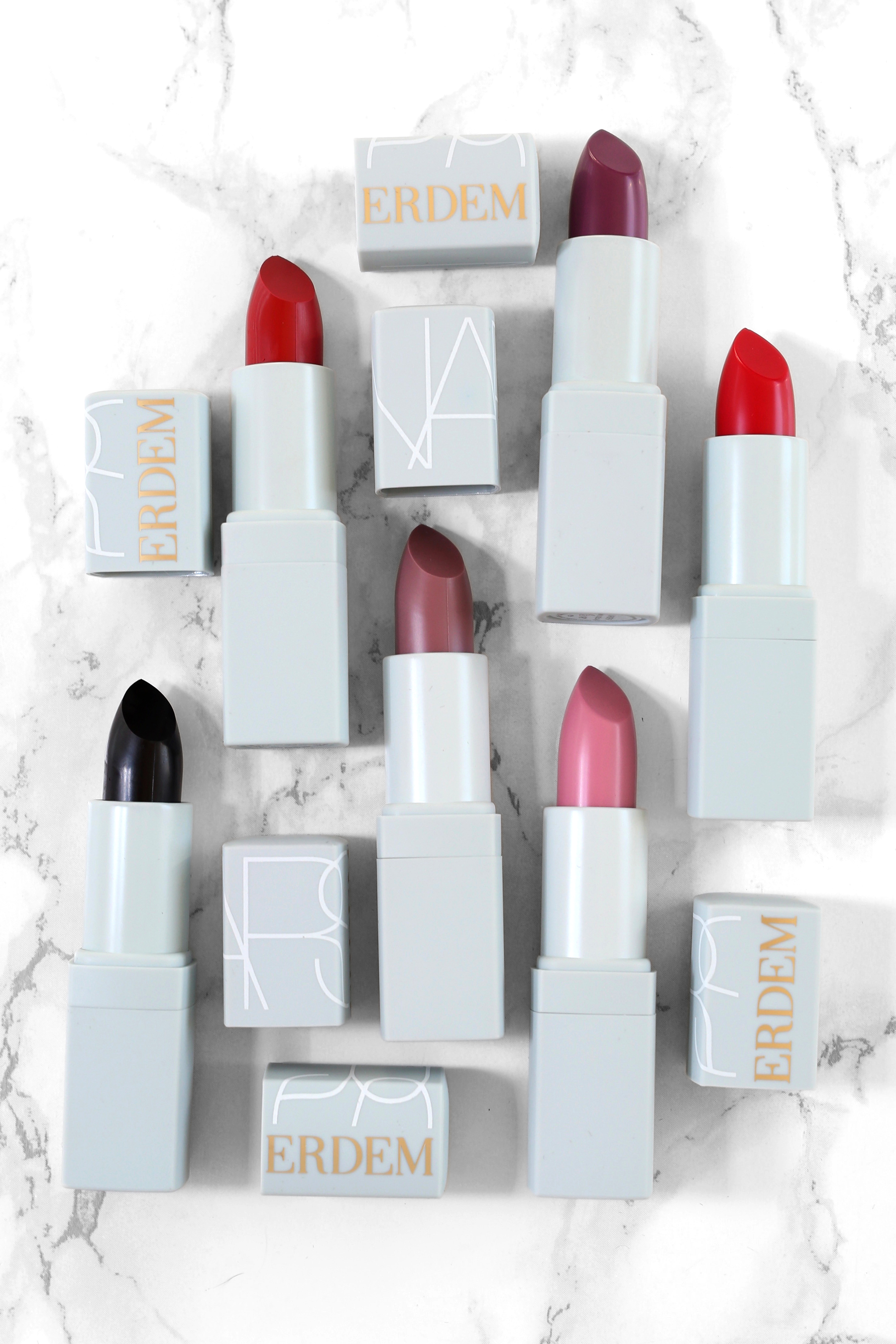 NARS x Erdem Full Lipstick Collection - Carnal Carnation, Bloodflower, Wild Flower, Moon Orchid, Larkspur, Voodoo Lily_9915.jpg