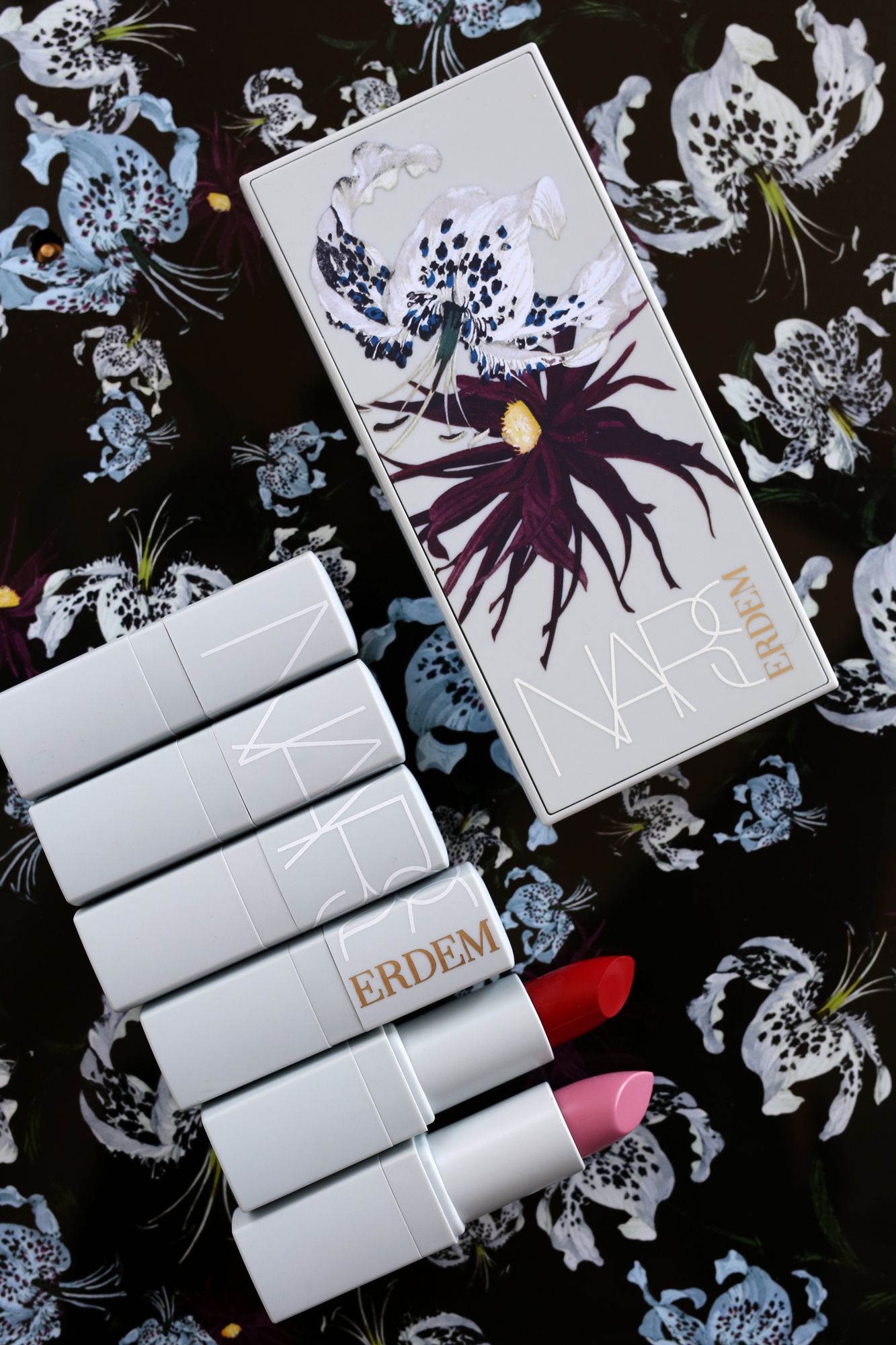 NARS x Erdem Full Lipstick Collection - Carnal Carnation, Bloodflower, Wild Flower, Moon Orchid, Larkspur, Voodoo Lily_0066.jpg